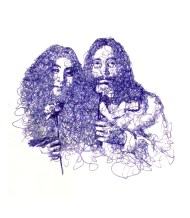John and Yoko by Tomori Nagamoto