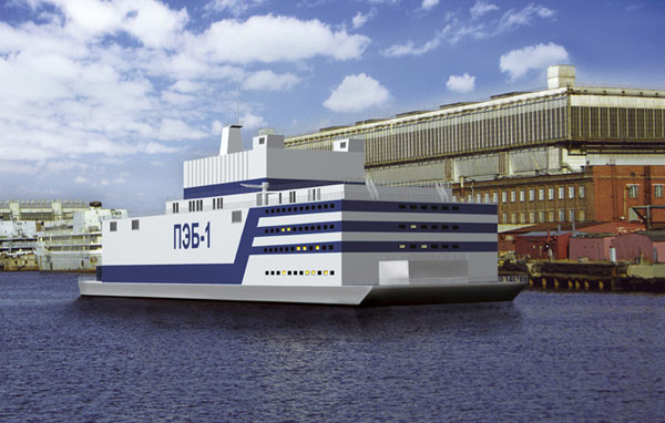 Floating Nuclear Power Station Russian [Proposed]