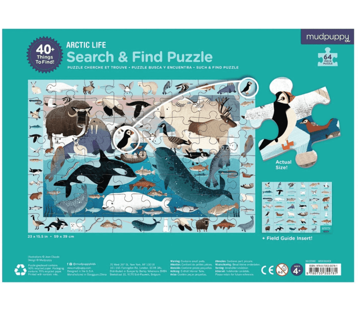 Artic Life Search & Find Puzzle-Puzzle-MUDPUPPY-jellyfishkids.com.cy