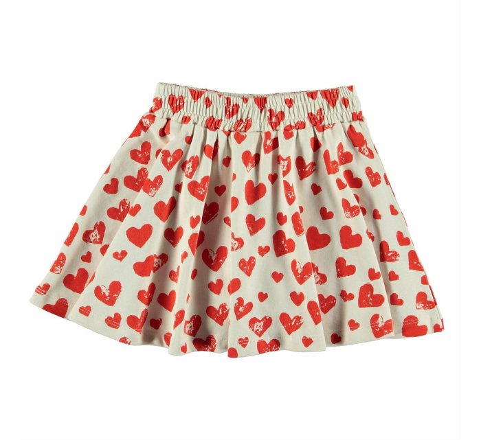 "Barbera ""all is love""-GIRLS SKIRT-Molo-122/128-7/8 yrs-jellyfishkids.com.cy"