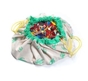 Cactus - Toy Storage Bag-Storage Bag-Play&Go-jellyfishkids.com.cy