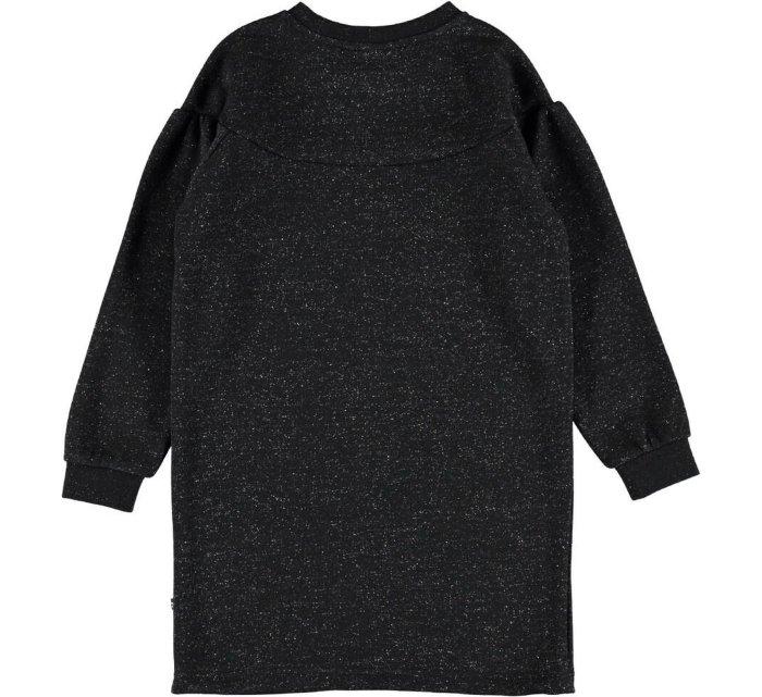 Carina Black-DRESS-Molo-122/128 - 7-8 YRS-jellyfishkids.com.cy