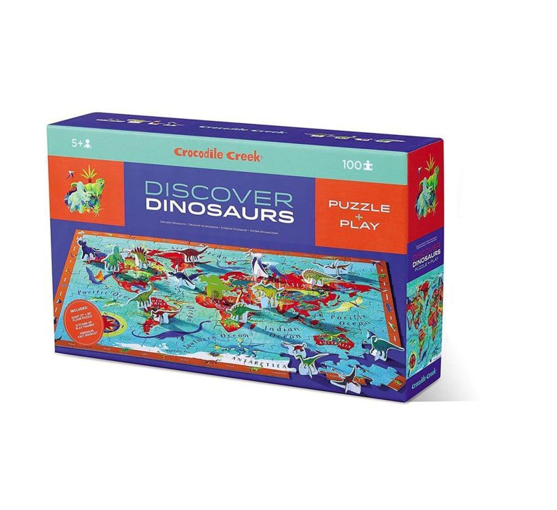 Discover Dinosaurs-100 piece Puzzle-Puzzle-Crocodile Creek-jellyfishkids.com.cy