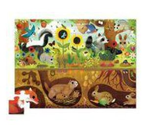 Forest Animals - Above & Below!-Puzzle-Crocodile Creek-jellyfishkids.com.cy
