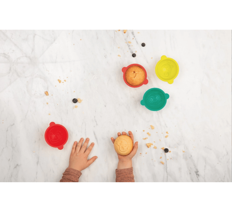 LITTLECHEF - Small Sweet Molds (6 Piece)-littlechef-Lilliputiens-jellyfishkids.com.cy