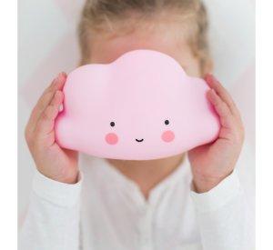 Little Cloud Light - Pink-Light-A Little Lovely Company-jellyfishkids.com.cy