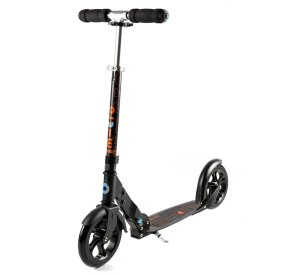 Micro Black-Scooter-Micro Scooter-jellyfishkids.com.cy