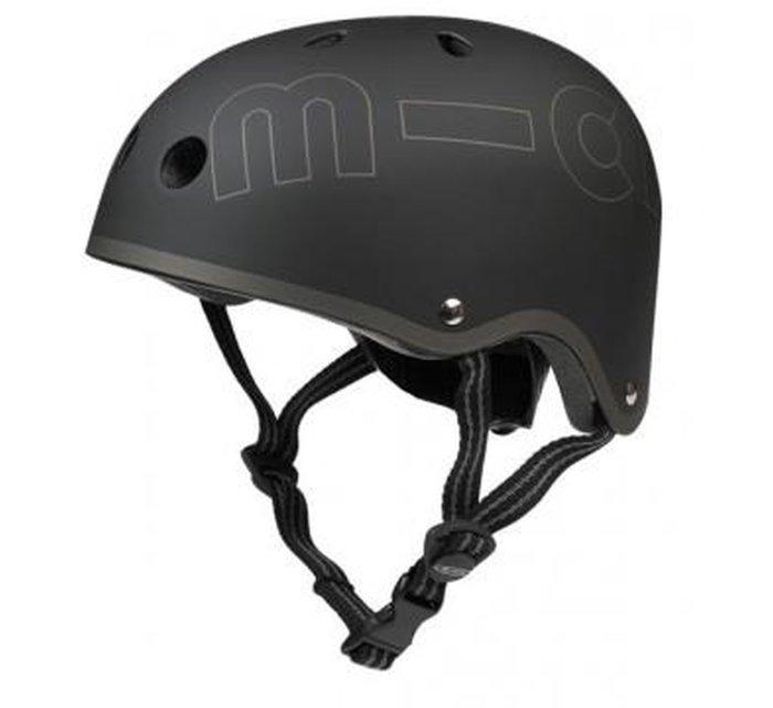 Micro Helmet Black-Helmet-Micro Scooter-S(48cm-52cm)-jellyfishkids.com.cy