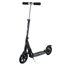 Micro Suspension Black-Scooter-Micro Scooter-jellyfishkids.com.cy