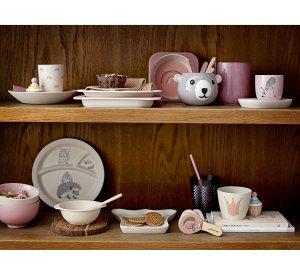 Ninni Serving Set, Rose, Bamboo-Bamboo Tableware-Bloomingville-jellyfishkids.com.cy