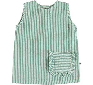 Rosalle - Green stripe-T-SHIRT-molo-98/104-3/4 yrs-jellyfishkids.com.cy