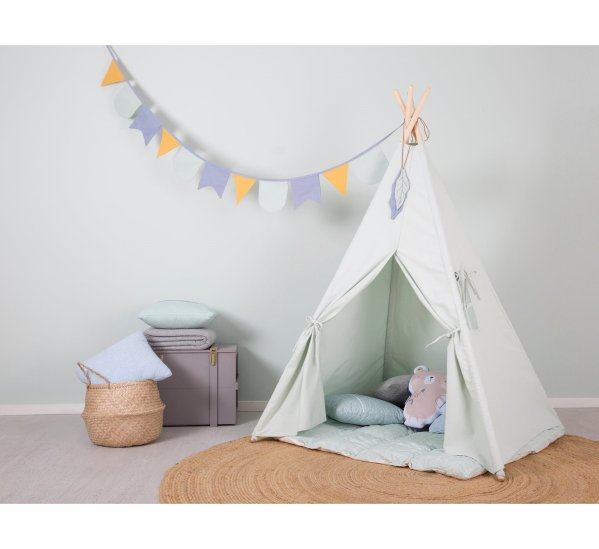Teepee Tent - Mint-Teepee-Little Dutch-jellyfishkids.com.cy