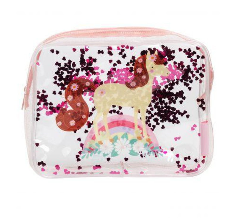 Toiletry Bag - Horse-Bag-A Little Lovely Company-jellyfishkids.com.cy