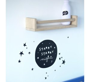 Wall Stcker - Starry Night-Wall Sticker-A Little Lovely Company-jellyfishkids.com.cy