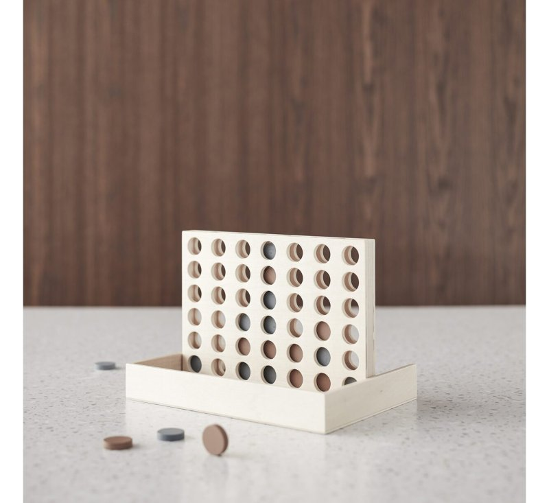 Wooden Connect 4-Wooden Toys-Kids Concept-jellyfishkids.com.cy