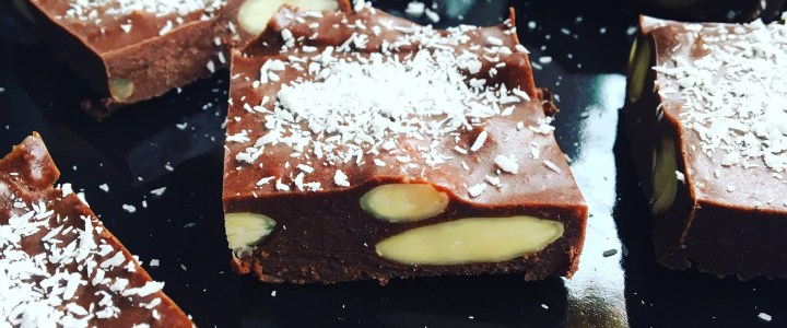 Carrés de chocolat fondants