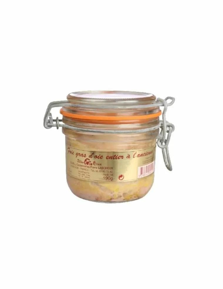 Conserve De Foie Gras : conserve, Bocal, D'oie, Achat, Vente, Ligne, JeMangeFrançais