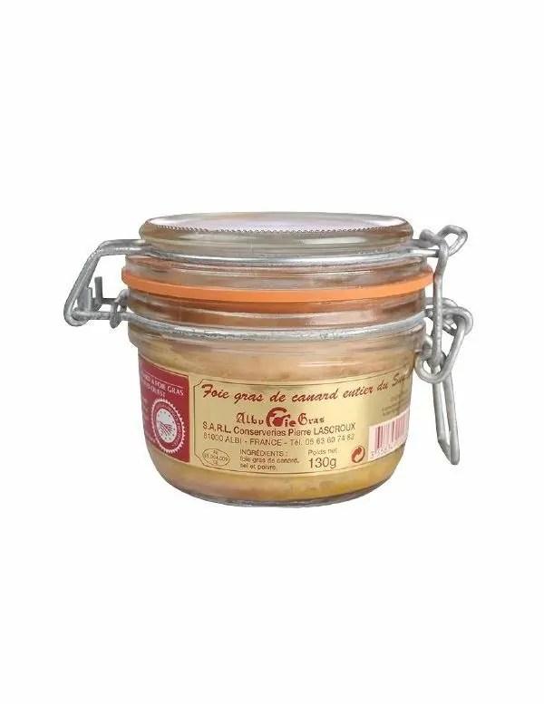 Conserve De Foie Gras : conserve, Bocal, Canard, Entier, Achat, Vente, JeMangeFrançais