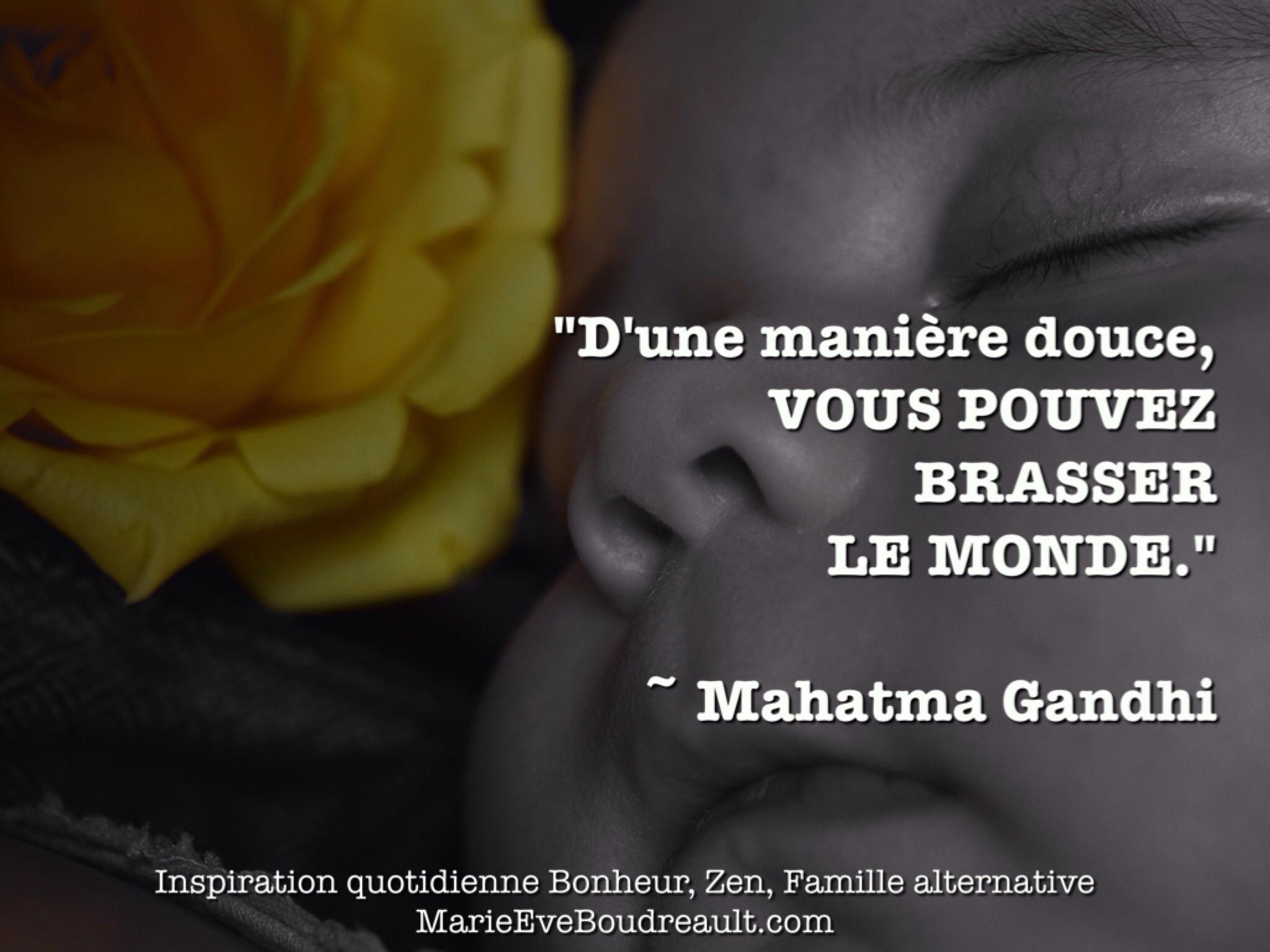 eaae2d07175d d une maniere douce vous pouvez brasser le monde meilleures citations  mahatma gandhi blog article