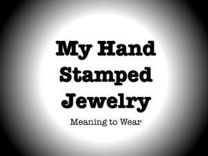 my hand stamped jewelry jewellery cuff bracelet quote bijoux etampes a la main de metal citations mots words quebec canada marie-eve boudreault