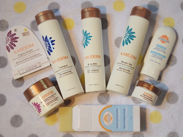 Mon avis sur les produits écoresponsables Kariderm, Blog Marie-Eve Boudreault, auteure {@MarieAuteure, @MarieEveWriter}
