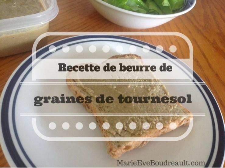 Un incontournable végane pour remplacer le beurre d'arachide commercial, le beurre de graines ou de noix. Ici, une recette de beurre de graines de tournesol
