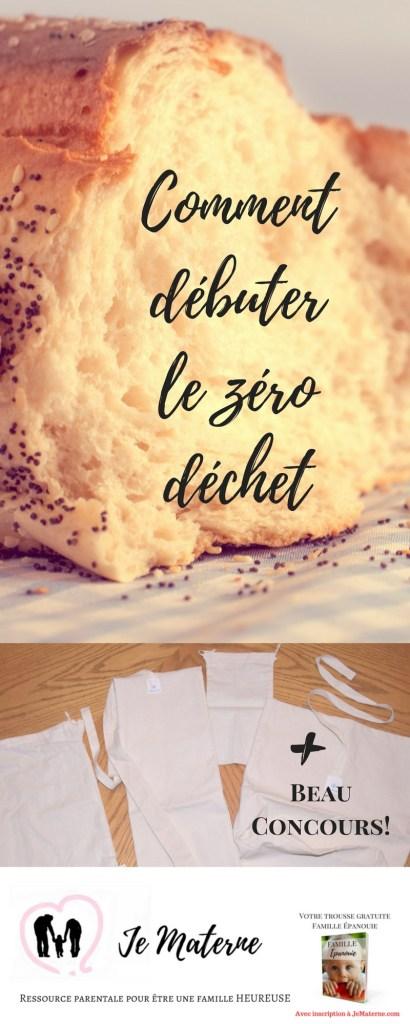 Zéro déchet en famille: Et si on débutait à boulangerie? - Je Materne