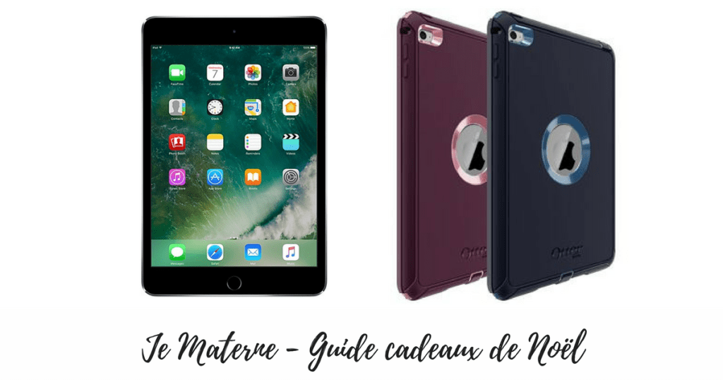 ipad mini 4 étui otterbox image Guide cadeaux de Noël 2016 pour enfants