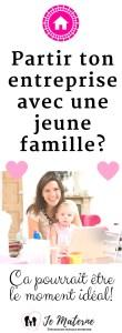 À LIRE! Partir ton entreprise avec une jeune famille - Ça pourrait être le moment idéal. Clique pour lire sur http://jematerne.com/2017/05/01/partir-une-entreprise-avec-une-jeune-famille-ca-pourrait-etre-le-moment-ideal-2 #entreprenariat #travail #mamanàlamaison