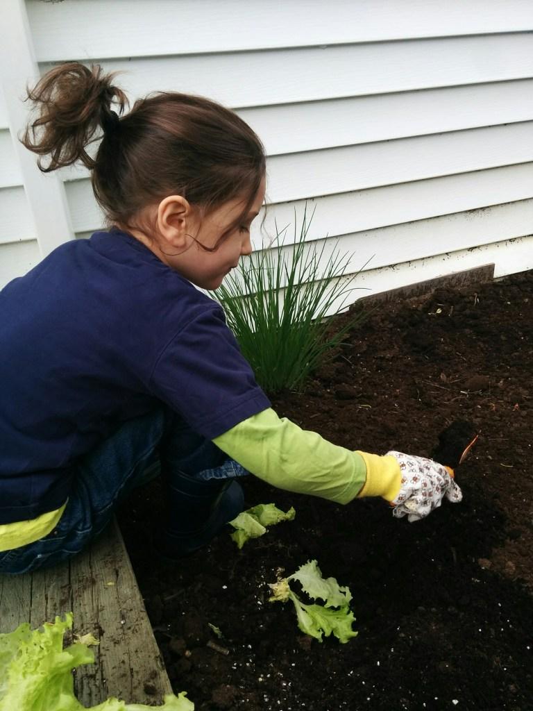 jardiner en famille