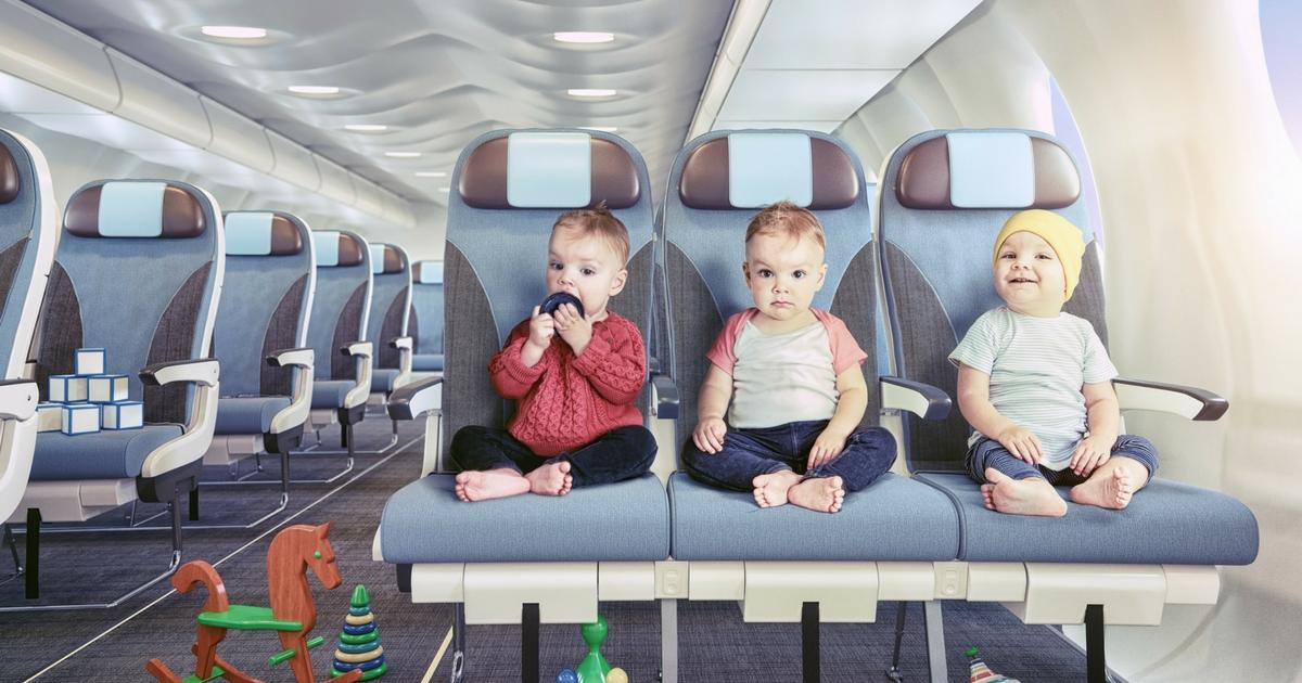 Partir en avion avec tes enfants, c'est quoi l'idée! À LIRE!