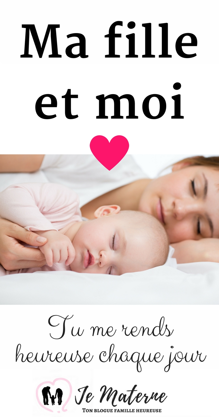À LIRE - Ma fille, crois-moi, tu me rends heureuse chaque jour. Clique sur l'image pour tout lire ou visite: http://jematerne.com/2018/02/13/ma-fille-et-moi