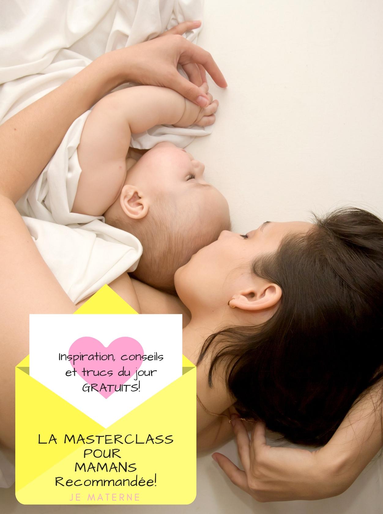 Masterclass pour mamans Je Materne