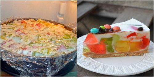 Прекрасный рецепт вкусного торта «Битое стекло», который понравится всем вашим родным