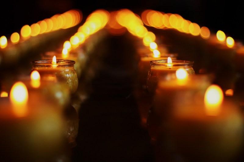 bougies de méditation
