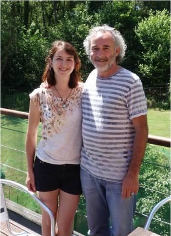 Arnaud Riou et moi