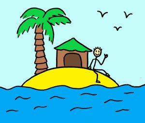 """Illustration de l'exercice du jour 14 du cahier d'exercices """"30 jours créatifs et magiques"""" de Sarah Chêne - Mon lieu ressource"""
