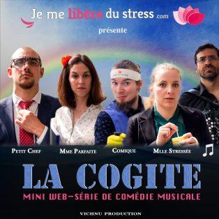 Affiche Comédie musicale anti-stress La Cogite