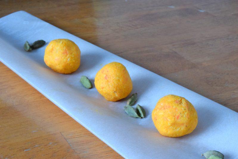 Bouchées de carottes à la cardamome