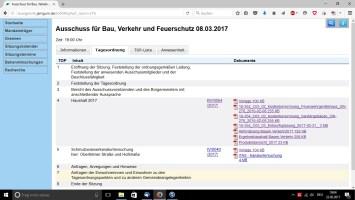 Bürgerinfosystem BVF (22.02.2017 - 18.05)