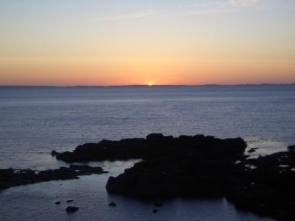 Sunset over Coll