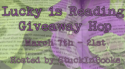 Lucky is Reading #flash #giveaway #hop