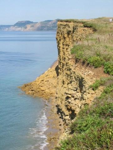 Burton Cliff by Maurice D Budden