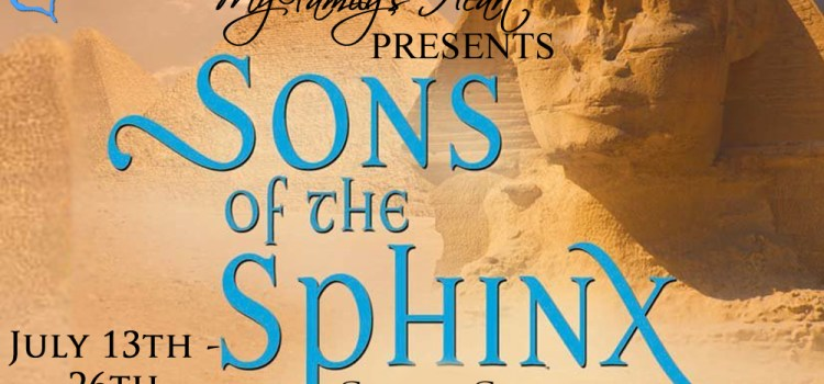 Blog Tour   Sons of the Sphinx and Cheryl Carpinello