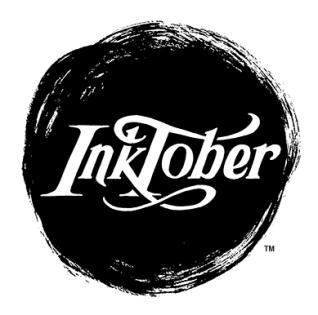 inktober badge