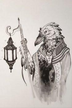 wandering-raven-merchant-by-dani-english