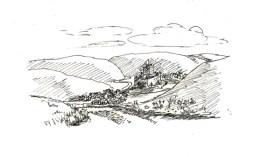 illustrations white horse castle