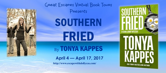 southern fried blog tour