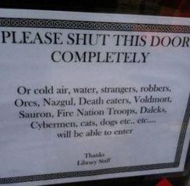 #FridayFlash Fiction | Who Left the Door Open?