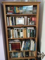 reference bookshelf